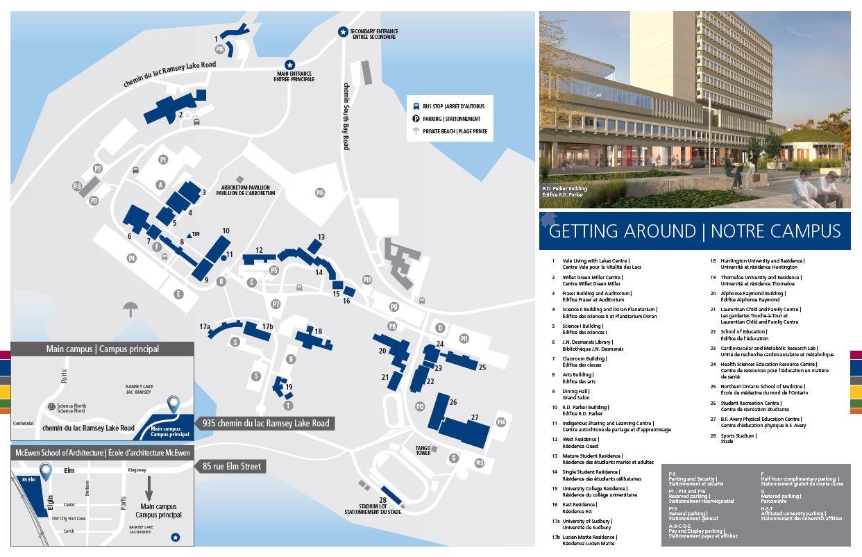 Laurentian University Practical Information