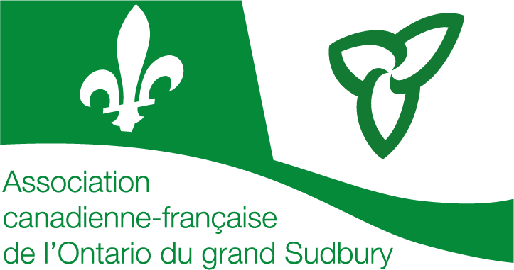 Logo de l'Association canadienne-française de l'Ontario du grand Sudbury