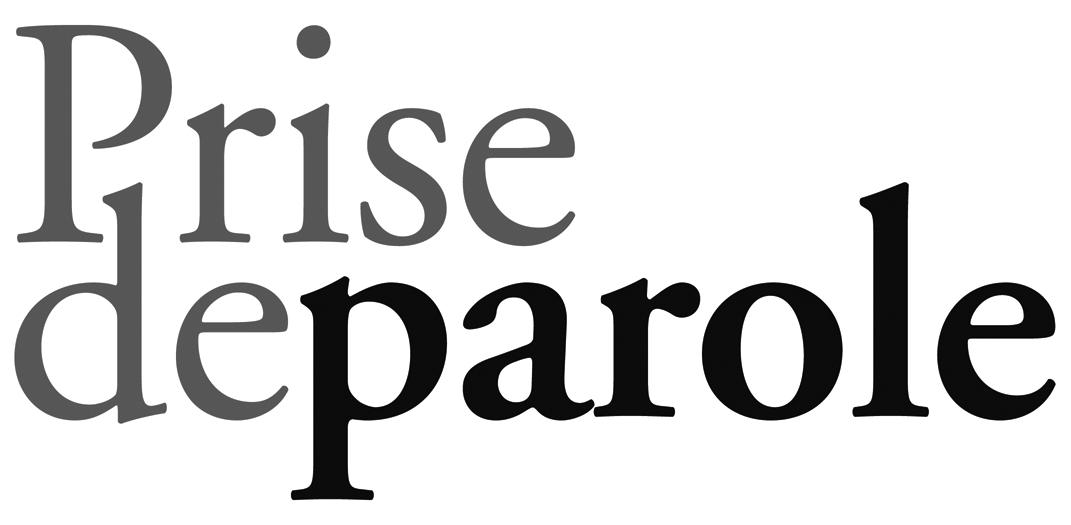 Logo of les éditions Prise de parole