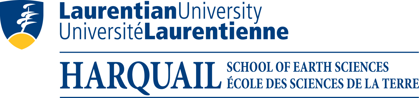 Laurentian University Universit? Laurentienne Harquail School of Earth Sciences ?cole des sciences de la terre